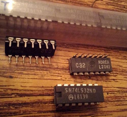 Lot of 25: Motorola SN74ALS32ND