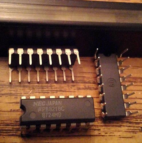Lot of 6: NEC UPB8216C