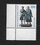 German MNH Scott #1844 Catalog Value $.80