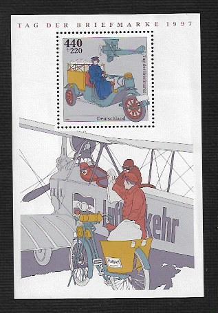 German MNH Scott #B819 Catalog Value $6.50