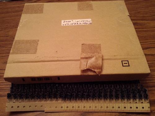 2000 ?: Nichicon UVZ1H2R2MDH1TA 2.2uF Aluminum Electrolytic Capacitor : FREE Shipping