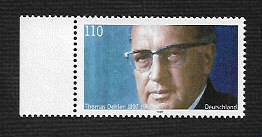 German MNH Scott #1986 Catalog Value $1.10