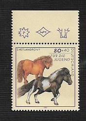 German MNH Scott #B814 Catalog Value $2.25