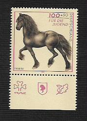 German MNH Scott #B815 Catalog Value $2.25