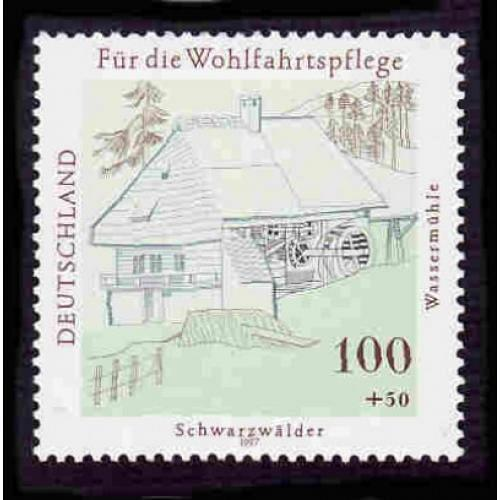 German MNH Scott #B820 Catalog Value $2.10