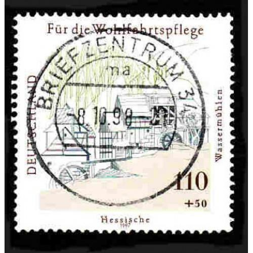 German Used Scott #B821 Catalog Value $2.40