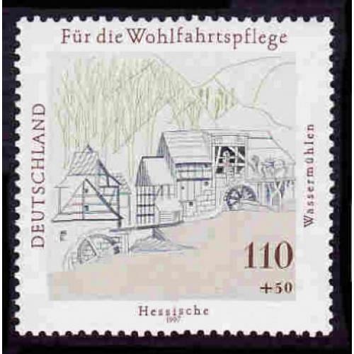 German MNH Scott #B821 Catalog Value $2.40