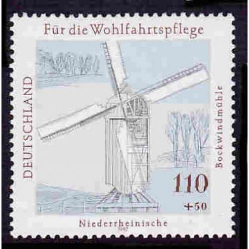German MNH Scott #B822 Catalog Value $2.40
