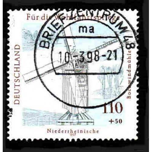German Used Scott #B822 Catalog Value $2.40