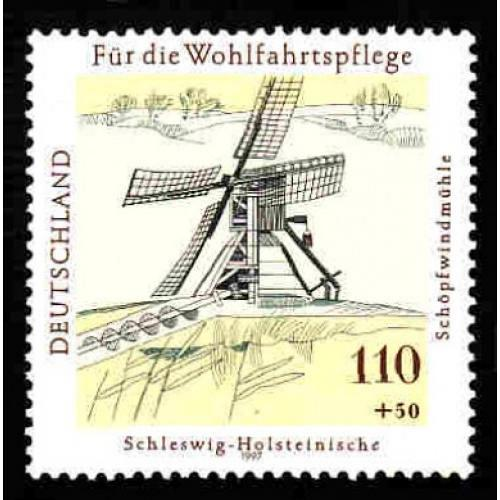 German MNH Scott #B823 Catalog Value $2.40