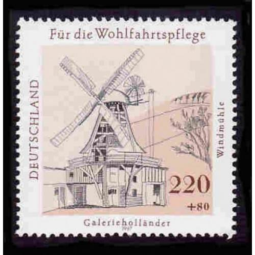 German MNH Scott #B824 Catalog Value $2.25
