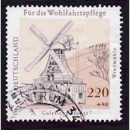 German Used Scott #B824 Catalog Value $3.75