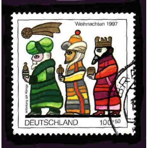 German Used Scott #B825 Catalog Value $1.45