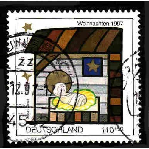 German Used Scott #B826 Catalog Value $1.75