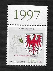 German MNH Scott #B818 Catalog Value $2.10