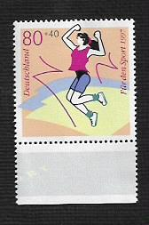 German MNH Scott #B809 Catalog Value $1.25