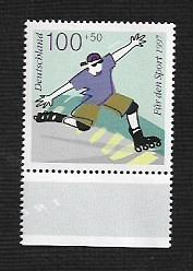 German MNH Scott #B810 Catalog Value $1.60