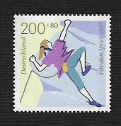 German MNH Scott #B812 Catalog Value $2.75