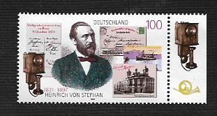 German MNH Scott #1961 Catalog Value $1.20