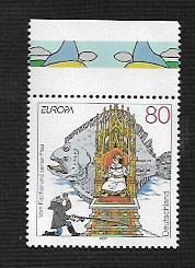 German MNH Scott #1965 Catalog Value $1.25