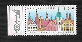German MNH Scott #1960 Catalog Value $1.10