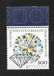 German MNH Scott #1963 Catalog Value $3.25