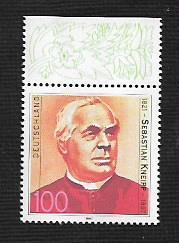 German MNH Scott #1969 Catalog Value $1.20