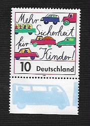 German MNH Scott #1979 Catalog Value $.40