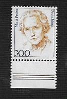 German MNH Scott #1731 Catalog Value $1.60