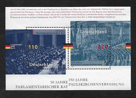 German MNH Scott #2005 Catalog Value $4.50