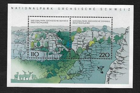 German MNH Scott #2009A Catalog Value $4.50