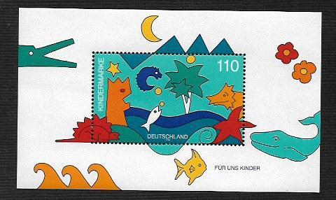 German MNH Scott #2000 Catalog Value $2.25
