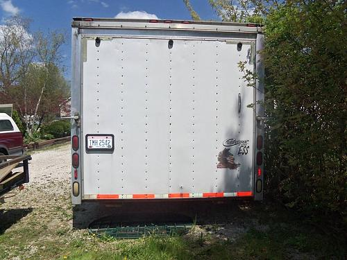 Enclosed Trailer Car Hauler Auto Transporter