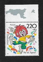 German MNH Scott #B836 Catalog Value $3.00