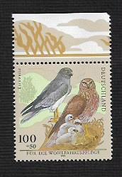 German MNH Scott #B837 Catalog Value $1.75