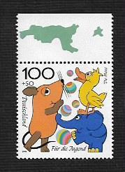 German MNH Scott #B832 Catalog Value $1.75