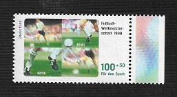 German MNH Scott #B827 Catalog Value $3.25