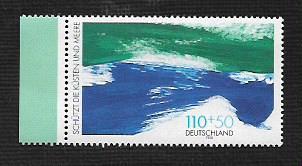 German MNH Scott #B831 Catalog Value $2.25