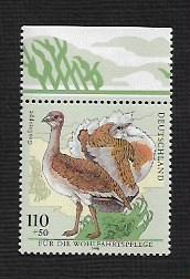 German MNH Scott #B838 Catalog Value $1.75