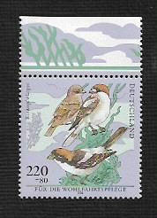 German MNH Scott #B841 Catalog Value $2.75