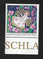 German MNH Scott #B843 Catalog Value $1.45
