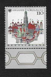 German MNH Scott #1989 Catalog Value $1.10