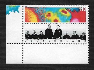 German MNH Scott #1991 Catalog Value $1.10