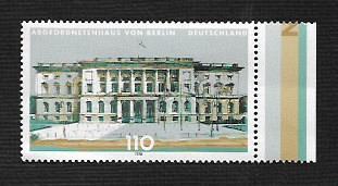 German MNH Scott #1996 Catalog Value $1.20