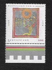 German MNH Scott #1998 Catalog Value $1.20