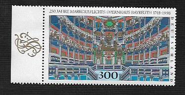 German MNH Scott #2001 Catalog Value $3.25