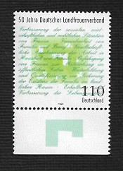 German MNH Scott #2003 Catalog Value $1.20
