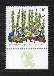 German MNH Scott #2008 Catalog Value $1.20