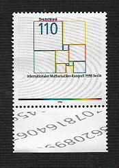 German MNH Scott #2010 Catalog Value $1.20