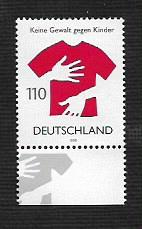 German MNH Scott #2017 Catalog Value $1.20